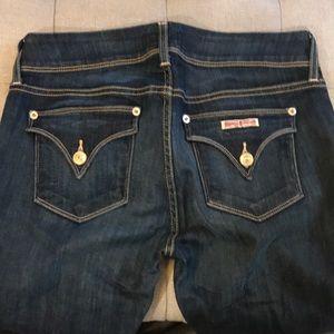 Hudson Ginnie cropped super stretch jeans
